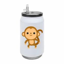 Термобанка 350ml Colored monkey