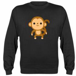 Реглан (світшот) Colored monkey