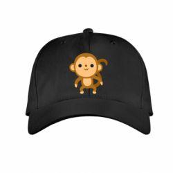 Дитяча кепка Colored monkey