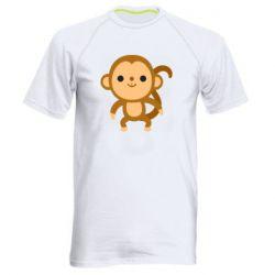 Чоловіча спортивна футболка Colored monkey