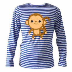 Тільник з довгим рукавом Colored monkey