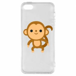 Чохол для iphone 5/5S/SE Colored monkey