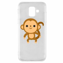 Чохол для Samsung A6 2018 Colored monkey