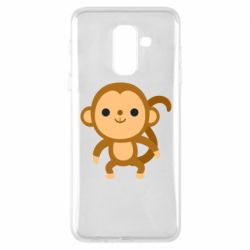 Чохол для Samsung A6+ 2018 Colored monkey