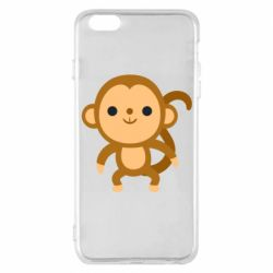 Чохол для iPhone 6 Plus/6S Plus Colored monkey