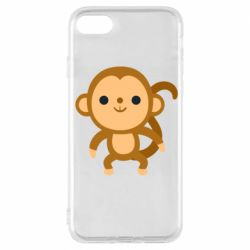 Чохол для iPhone 7 Colored monkey