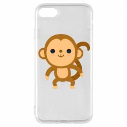 Чохол для iPhone 8 Colored monkey