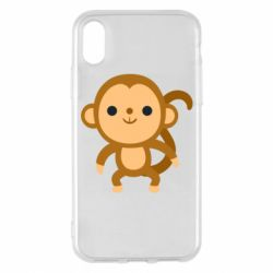 Чохол для iPhone X/Xs Colored monkey
