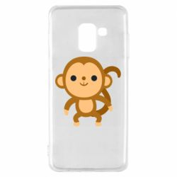 Чохол для Samsung A8 2018 Colored monkey