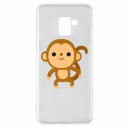 Чохол для Samsung A8+ 2018 Colored monkey