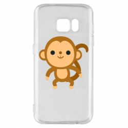 Чохол для Samsung S7 Colored monkey