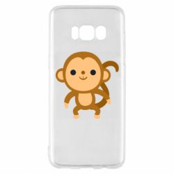 Чохол для Samsung S8 Colored monkey