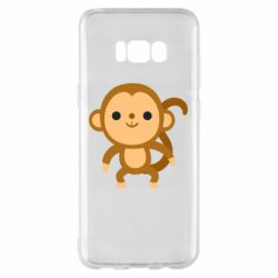 Чохол для Samsung S8+ Colored monkey