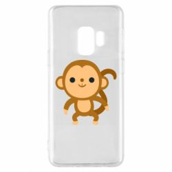Чохол для Samsung S9 Colored monkey