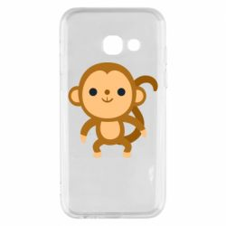 Чохол для Samsung A3 2017 Colored monkey