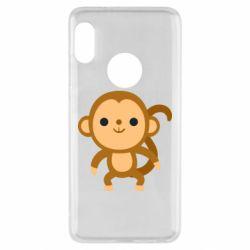Чехол для Xiaomi Redmi Note 5 Colored monkey