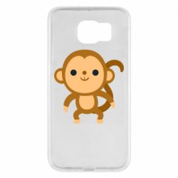 Чохол для Samsung S6 Colored monkey