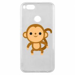 Чехол для Xiaomi Mi A1 Colored monkey