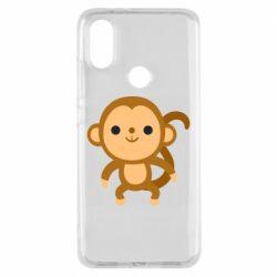 Чехол для Xiaomi Mi A2 Colored monkey