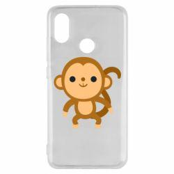 Чехол для Xiaomi Mi8 Colored monkey