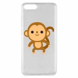 Чехол для Xiaomi Mi Note 3 Colored monkey