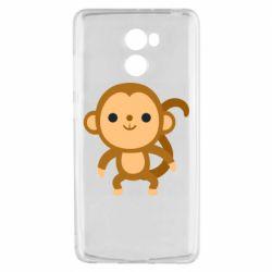Чехол для Xiaomi Redmi 4 Colored monkey