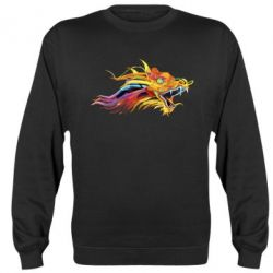 Реглан (свитшот) Colorful Dragon - FatLine
