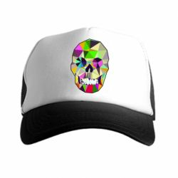 Кепка-тракер Colorful Skull