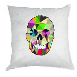 Подушка Colorful Skull - FatLine