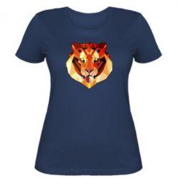 Женская футболка Colorful Tiger - FatLine