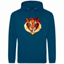 Мужская толстовка Colorful Tiger