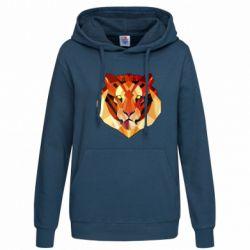 Женская толстовка Colorful Tiger