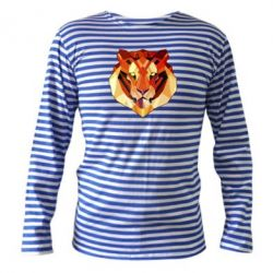Тельняшка с длинным рукавом Colorful Tiger - FatLine