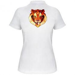 Женская футболка поло Colorful Tiger