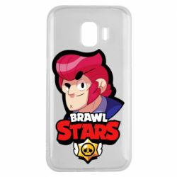 Чехол для Samsung J2 2018 Colt from Brawl Stars