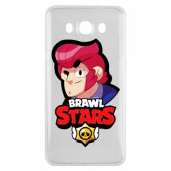 Чехол для Samsung J7 2016 Colt from Brawl Stars