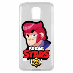 Чехол для Samsung S5 Colt from Brawl Stars