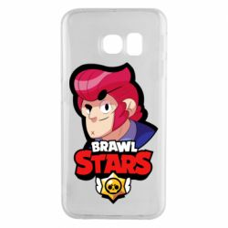 Чехол для Samsung S6 EDGE Colt from Brawl Stars