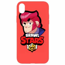 Чехол для iPhone XR Colt from Brawl Stars