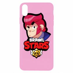 Чехол для iPhone Xs Max Colt from Brawl Stars