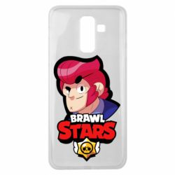 Чехол для Samsung J8 2018 Colt from Brawl Stars