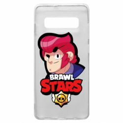 Чехол для Samsung S10+ Colt from Brawl Stars