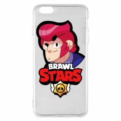 Чехол для iPhone 6 Plus/6S Plus Colt from Brawl Stars