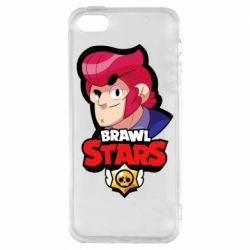 Чехол для iPhone5/5S/SE Colt from Brawl Stars