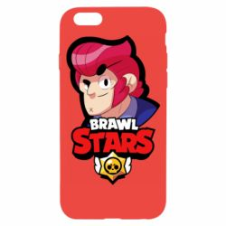 Чехол для iPhone 6/6S Colt from Brawl Stars