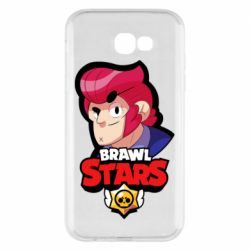 Чехол для Samsung A7 2017 Colt from Brawl Stars