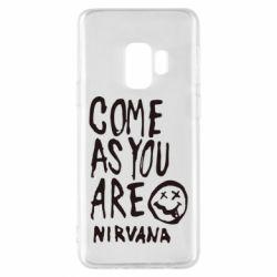 Чехол для Samsung S9 Come as you are Nirvana - FatLine