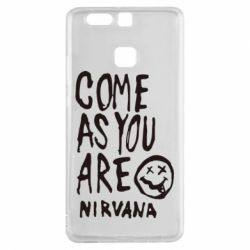 Чехол для Huawei P9 Come as you are Nirvana - FatLine