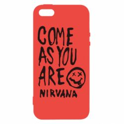 Чехол для iPhone5/5S/SE Come as you are Nirvana - FatLine