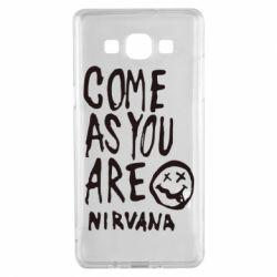 Чехол для Samsung A5 2015 Come as you are Nirvana - FatLine